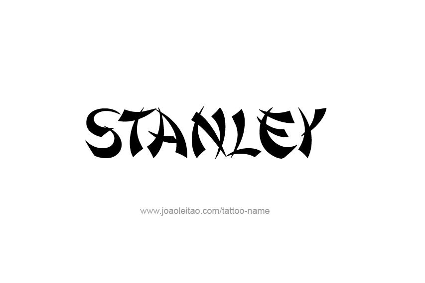 Tattoo Design  Name Stanley