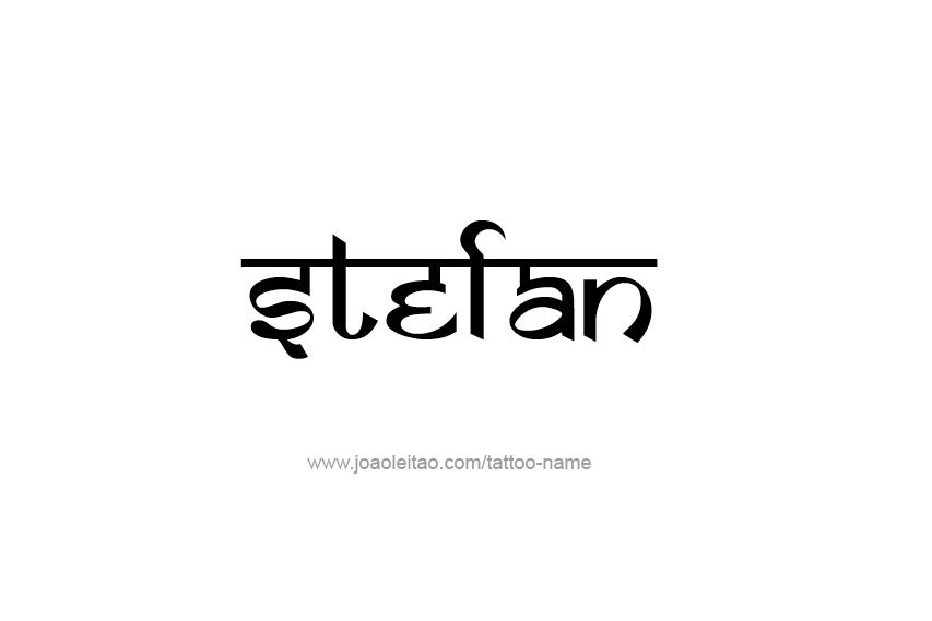 Tattoo Design  Name Stefan
