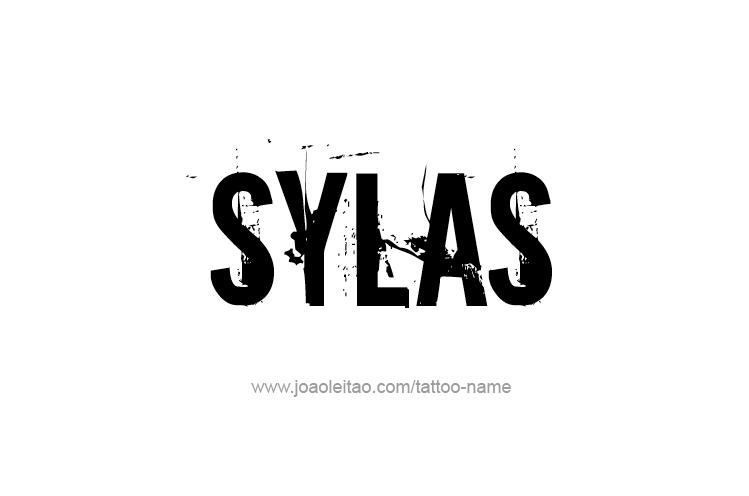 Tattoo Design  Name Sylas