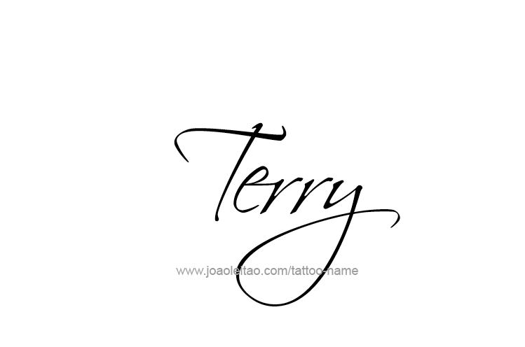 Tattoo Design  Name Terry