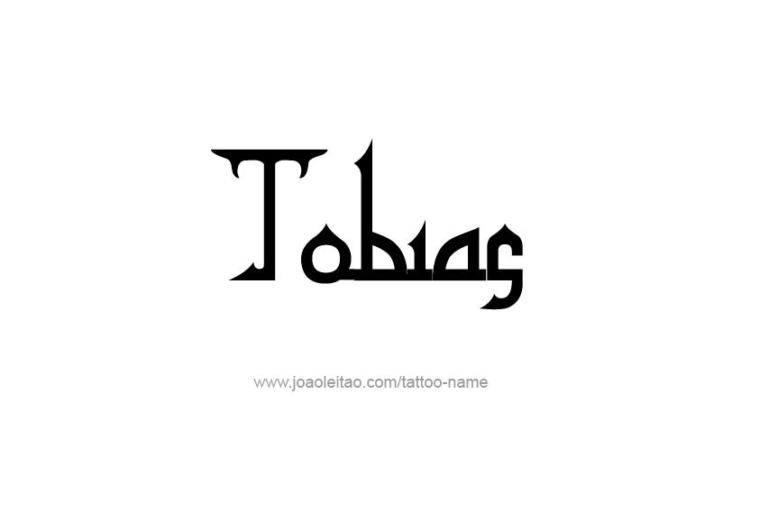 Tattoo Design  Name Tobias