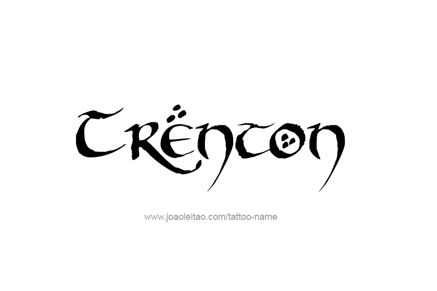 Tattoo Design  Name Trenton
