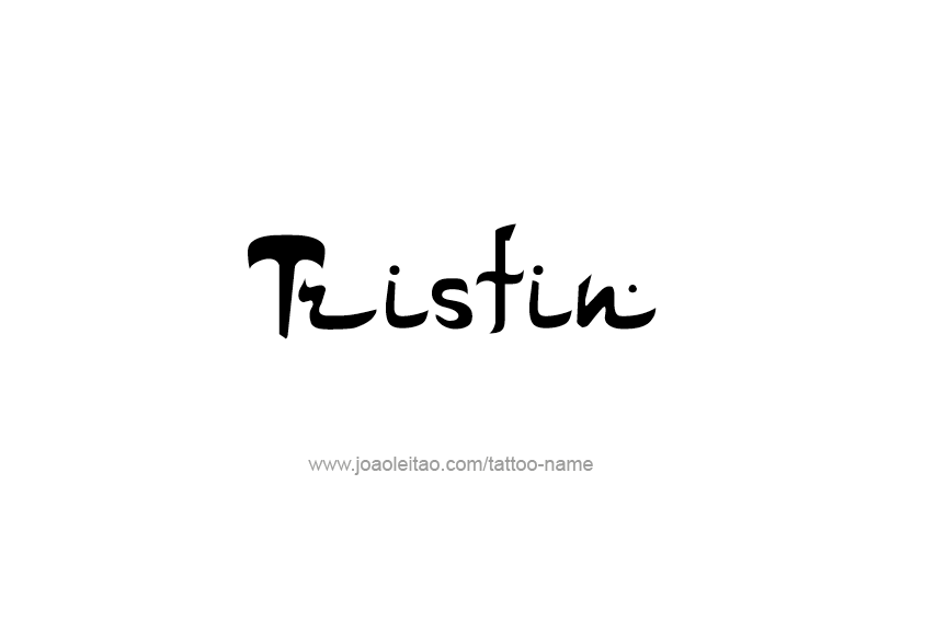 Tattoo Design  Name Tristin