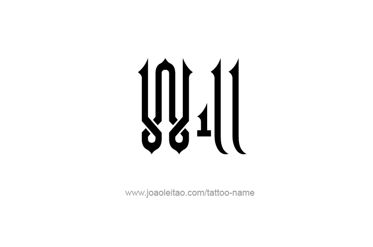 Tattoo Design  Name Will