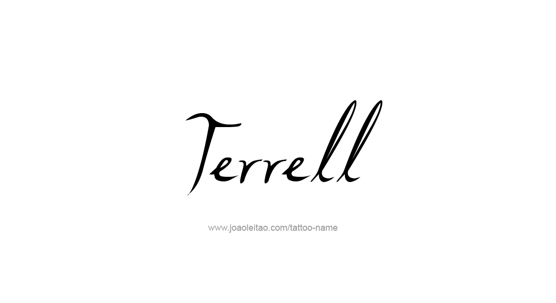 Tattoo Design  Name Terrell