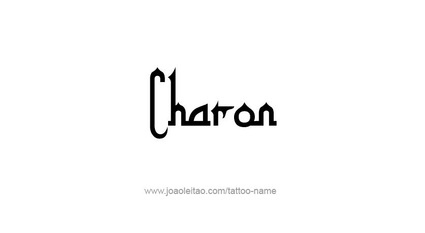 Tattoo Design Mythology Name Charon