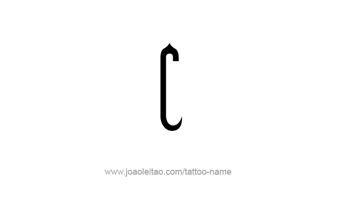 Tattoo Design Roman Numeral C 100