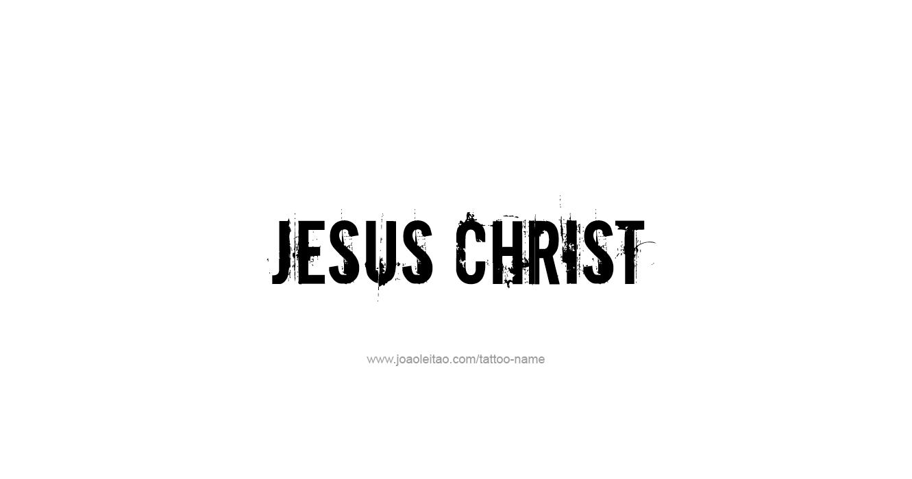 Tattoo Design Prophet Name Jesus Christ