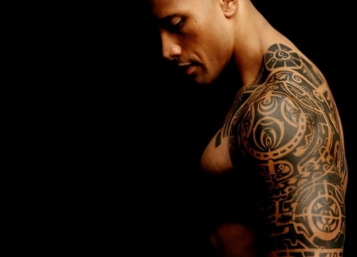 Shoulder Tattoo for Men - Tribal Tattoo Design Ideas