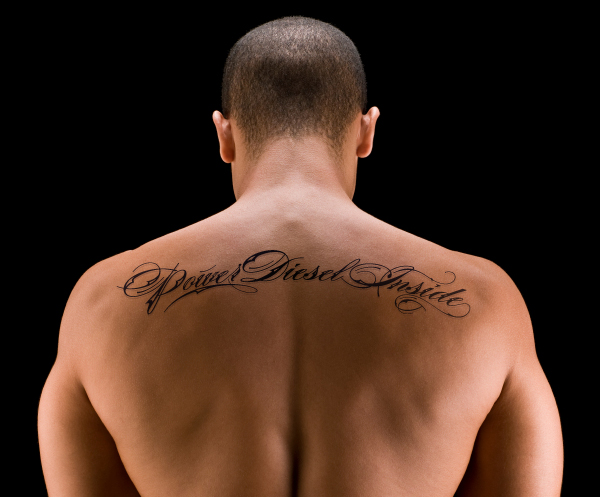 Back Tattoo for Men - Tribal Tattoo Design Ideas
