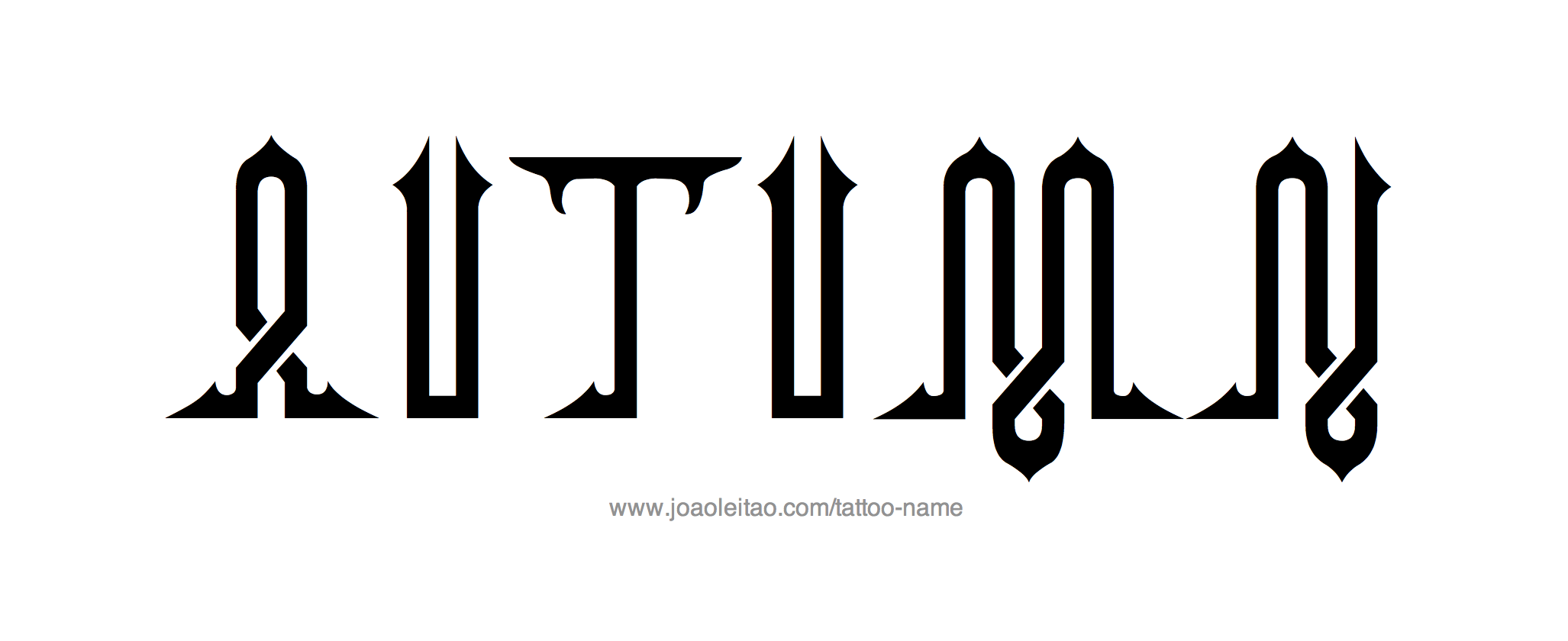 Tattoo Design Name Autumn