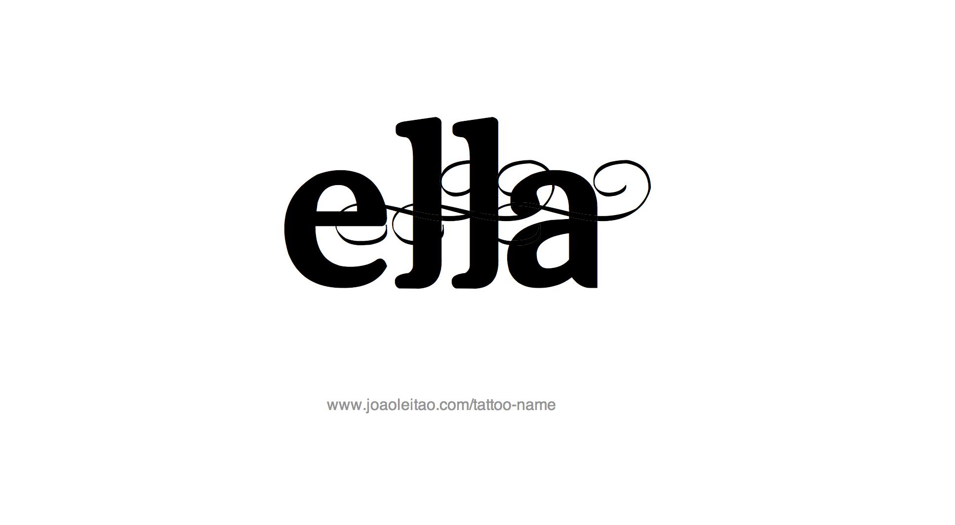 образ картинки с именем элла на английском публикациям