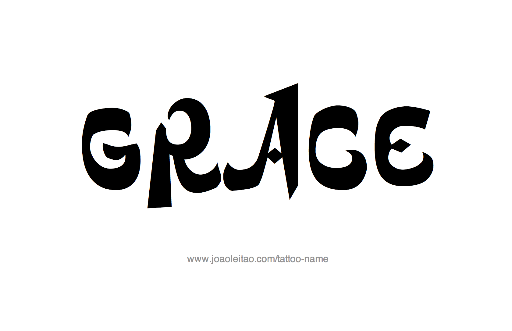 Tattoo Design Name Grace