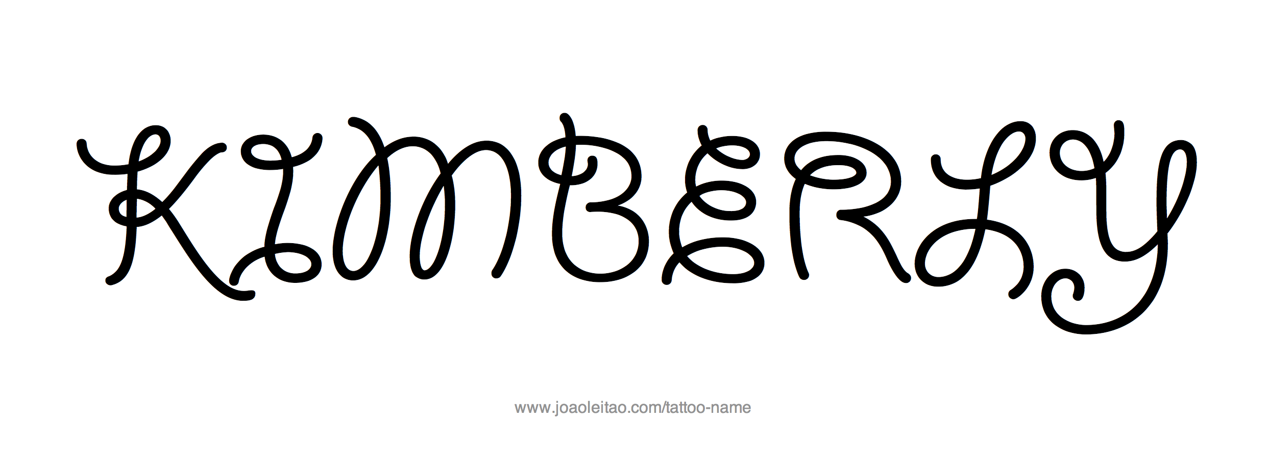 Tattoo Design Name Kimberly