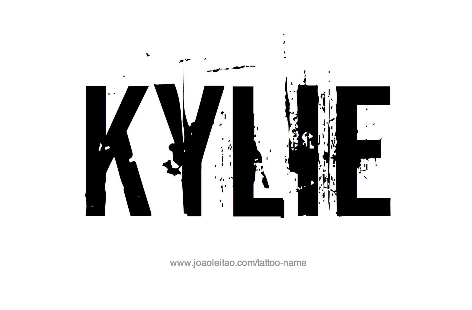 Tattoo Design Name Kylie