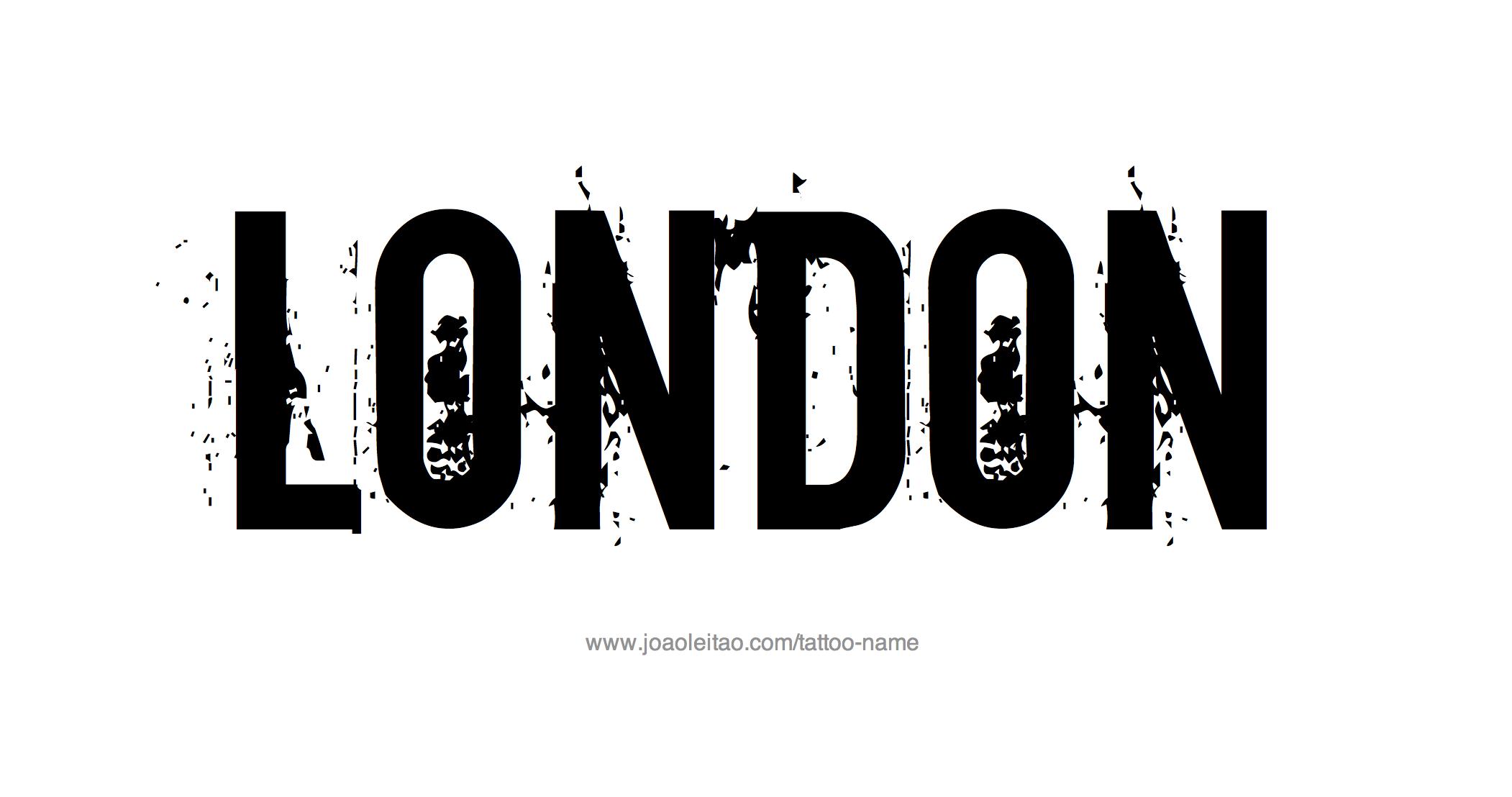 Tattoo Design Name London