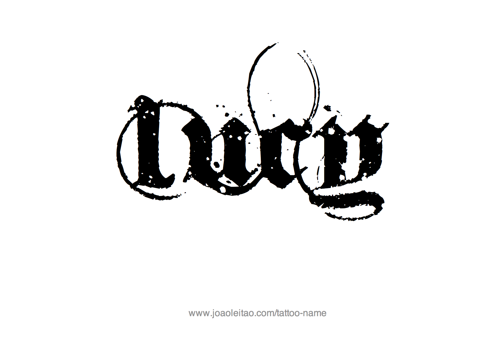 Lucy Name Tattoo Designs