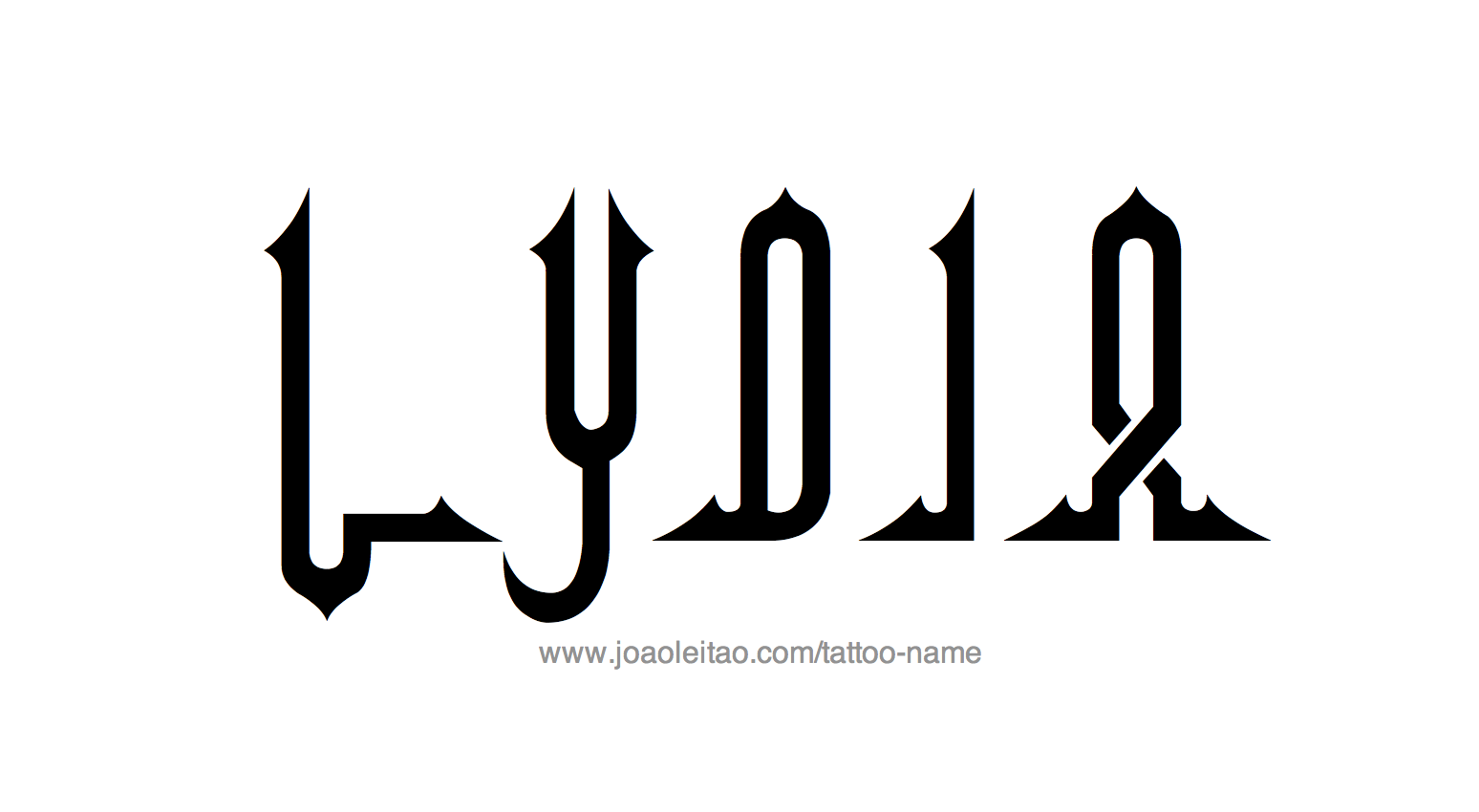 Tattoo Design Name Lydia