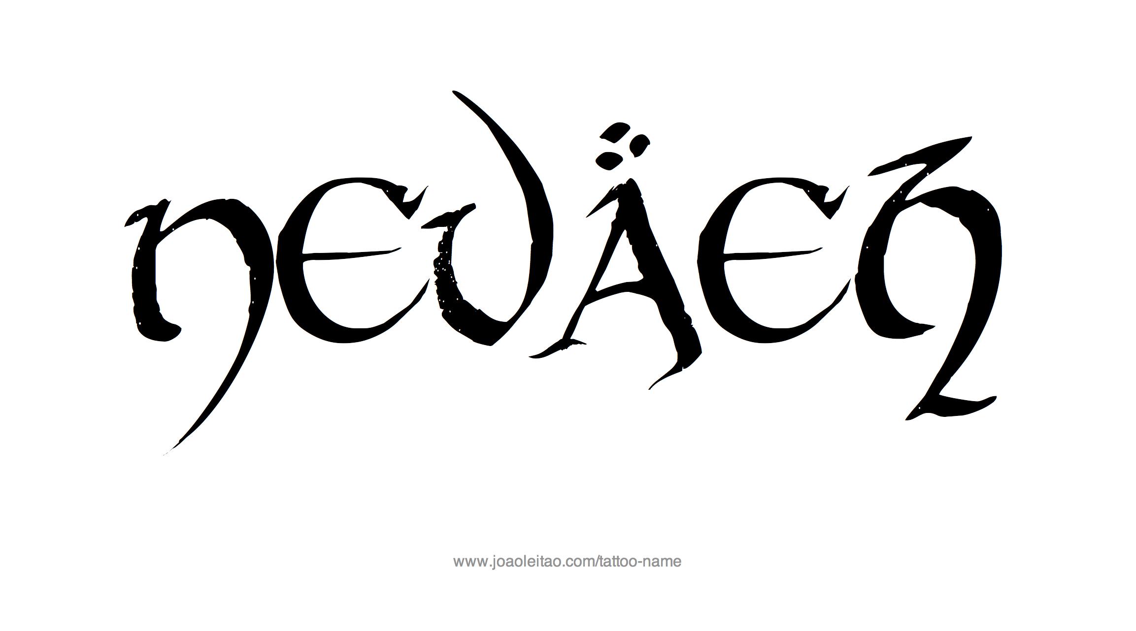 Tattoo Design Name Nevaeh