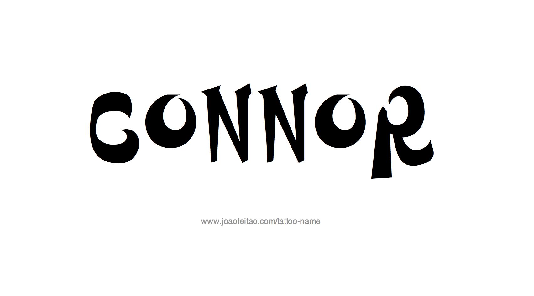 Tattoo Design Name Connor