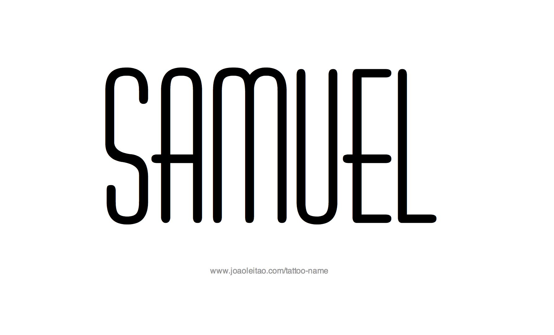 Tattoo Design Name Samuel
