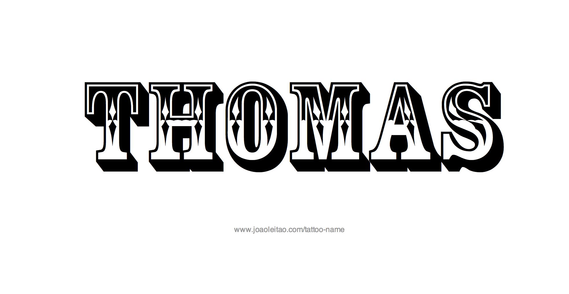 Upper Arm Tattoo Ideas For Men Thomas Name Tattoo Des...