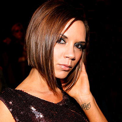 Victoria Beckham Name Tattoo