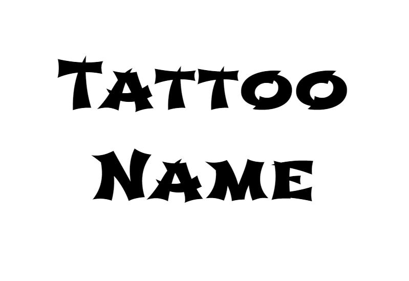 Nazwij Tatuaże Odkryj Najlepsze Wzory Tatuaży