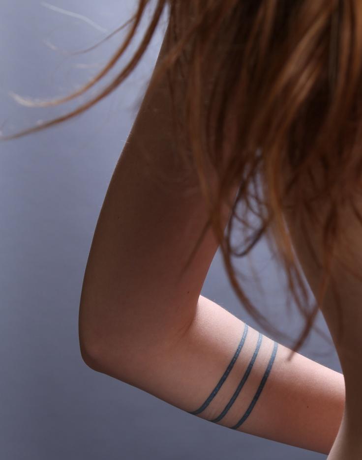 Armband forearm tattoo ideas for female