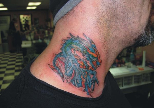 Dragon tattoo designs for men