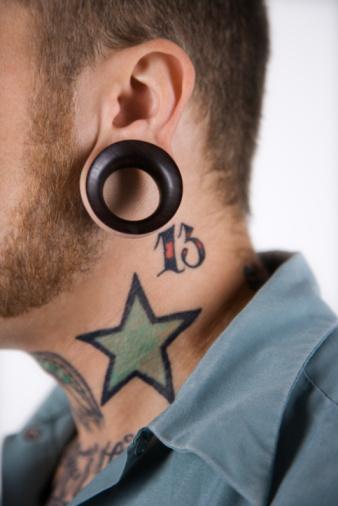 Star tattoo designs ideas for men