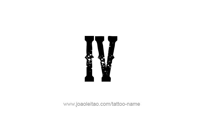 Arquivo Para Tatuagem Números Romanos Tatuagem Com Nome
