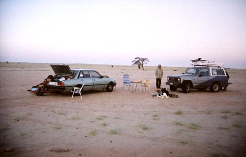 Dormir en route Mauritania deserto do saara