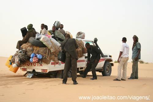 Gao até Tombouctou Mali