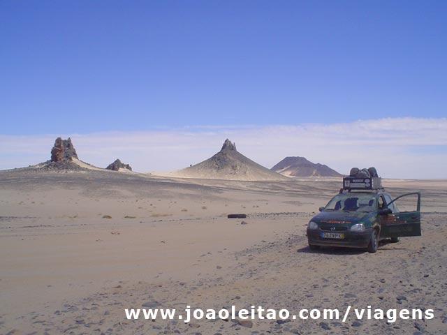 Zouerat ate Bir Moghrein, norte da Mauritânia