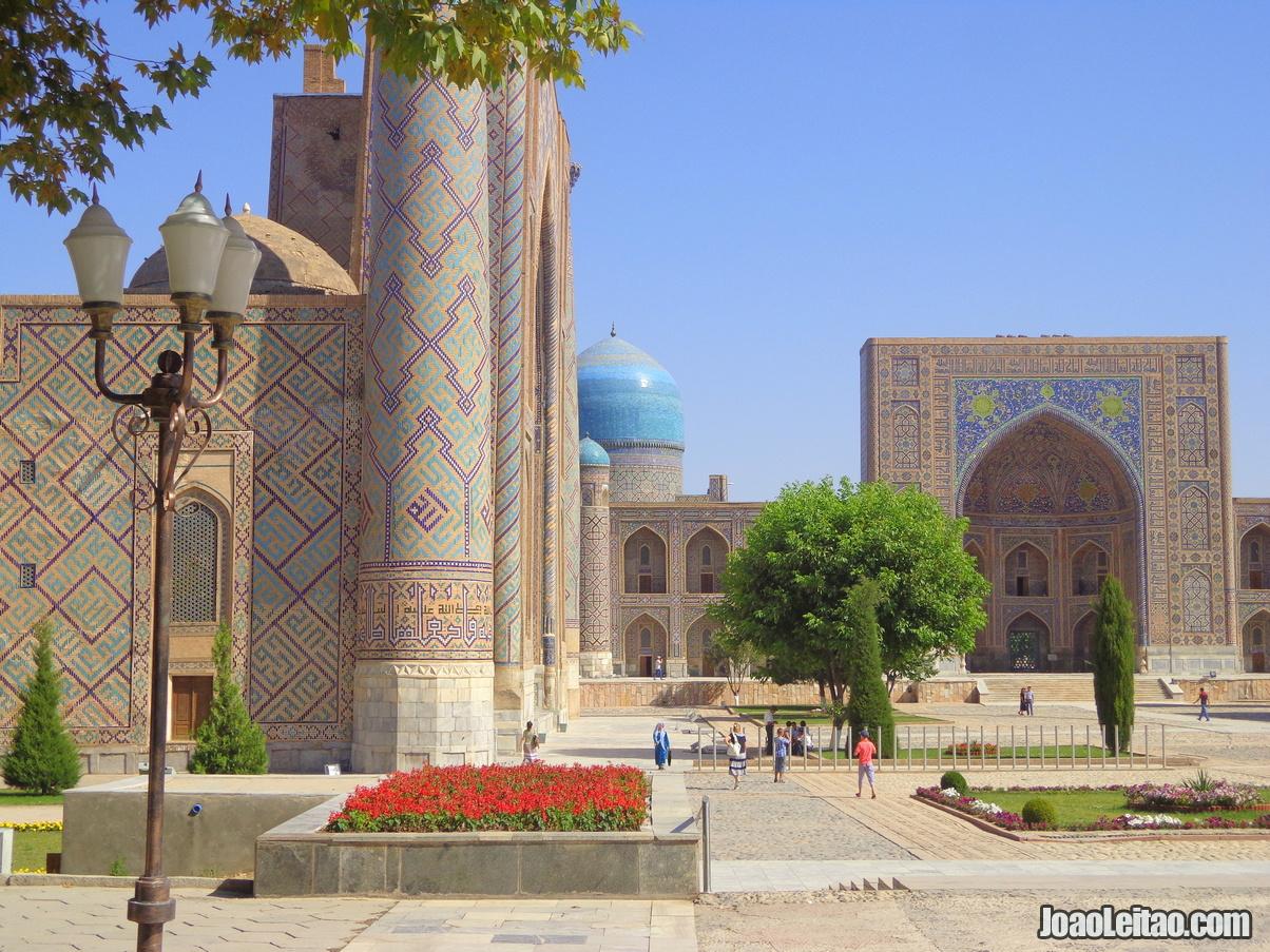 Visitar Samarcanda Uzbequistão