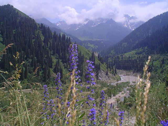Medeu, cadeia montanhosa de Tian Shan, Cazaquistão