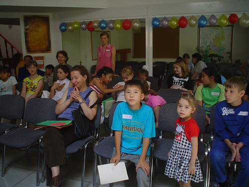 Concordia Children Workshop em Almaty