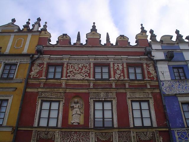 Fotografias da Praça Principal de Zamosc