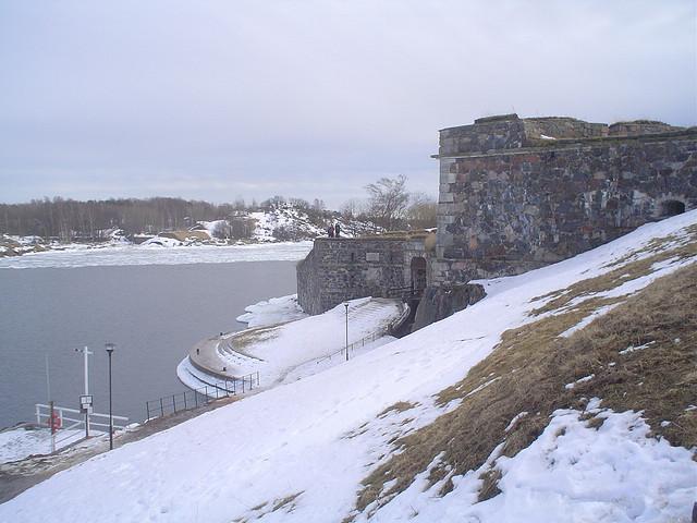 Fotografias da Fortaleza Suomenlinna