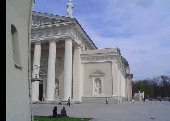 Vilnius, cidade UNESCO no Báltico, Lituânia