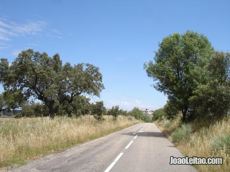 Viagem de bicicleta no Alentejo