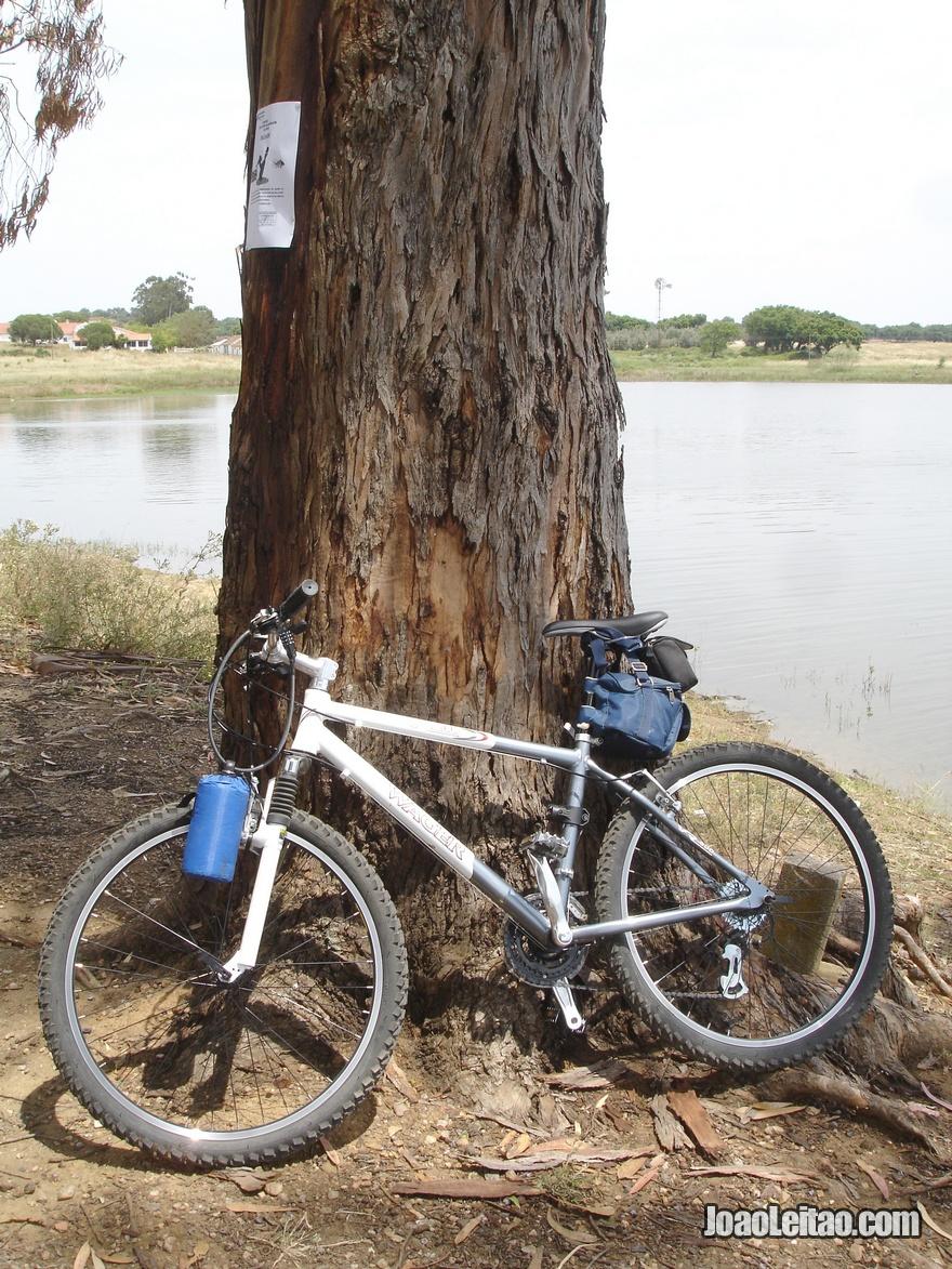 Viajar de bicicleta no Alentejo, Évora até Arraiolos