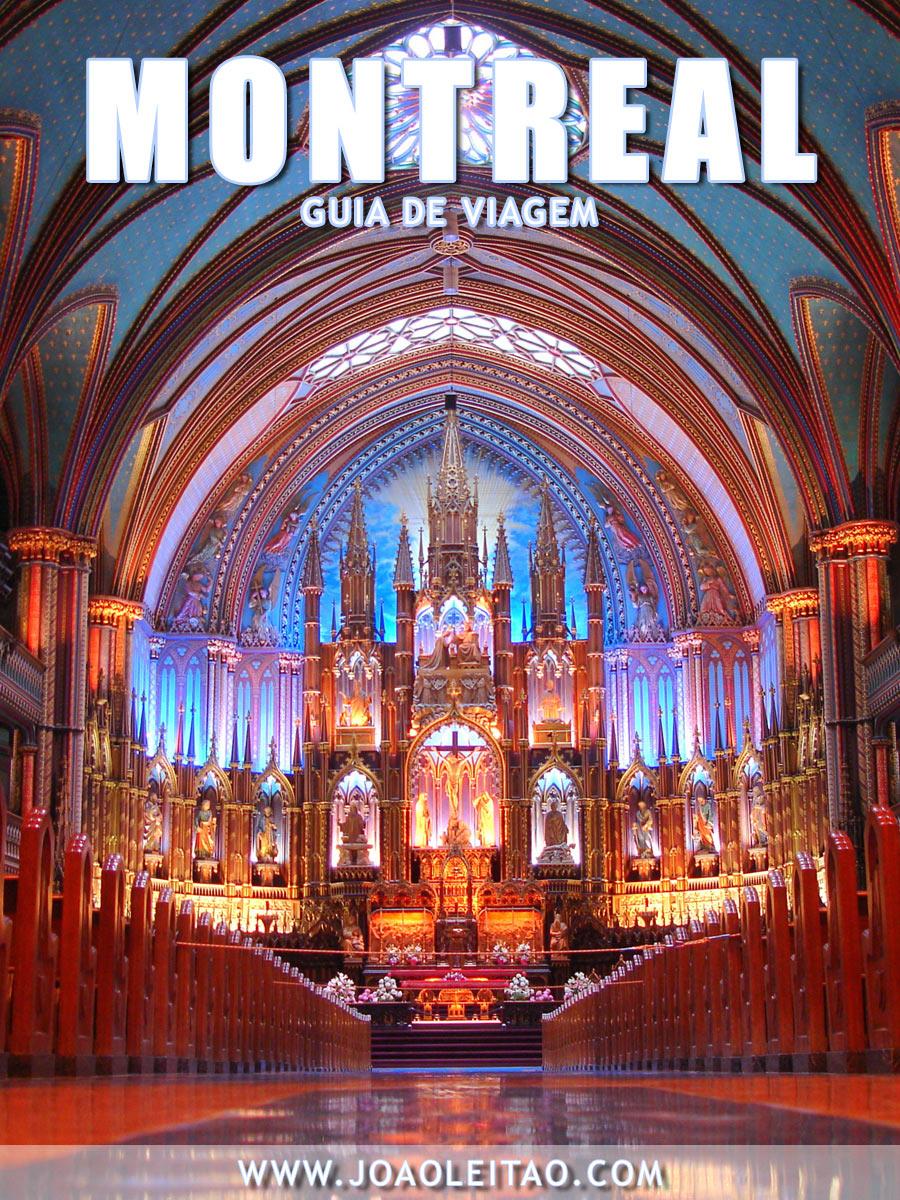 Visitar Montreal, Guia de Viagem - Dicas, Roteiros, Mapas, Fotos