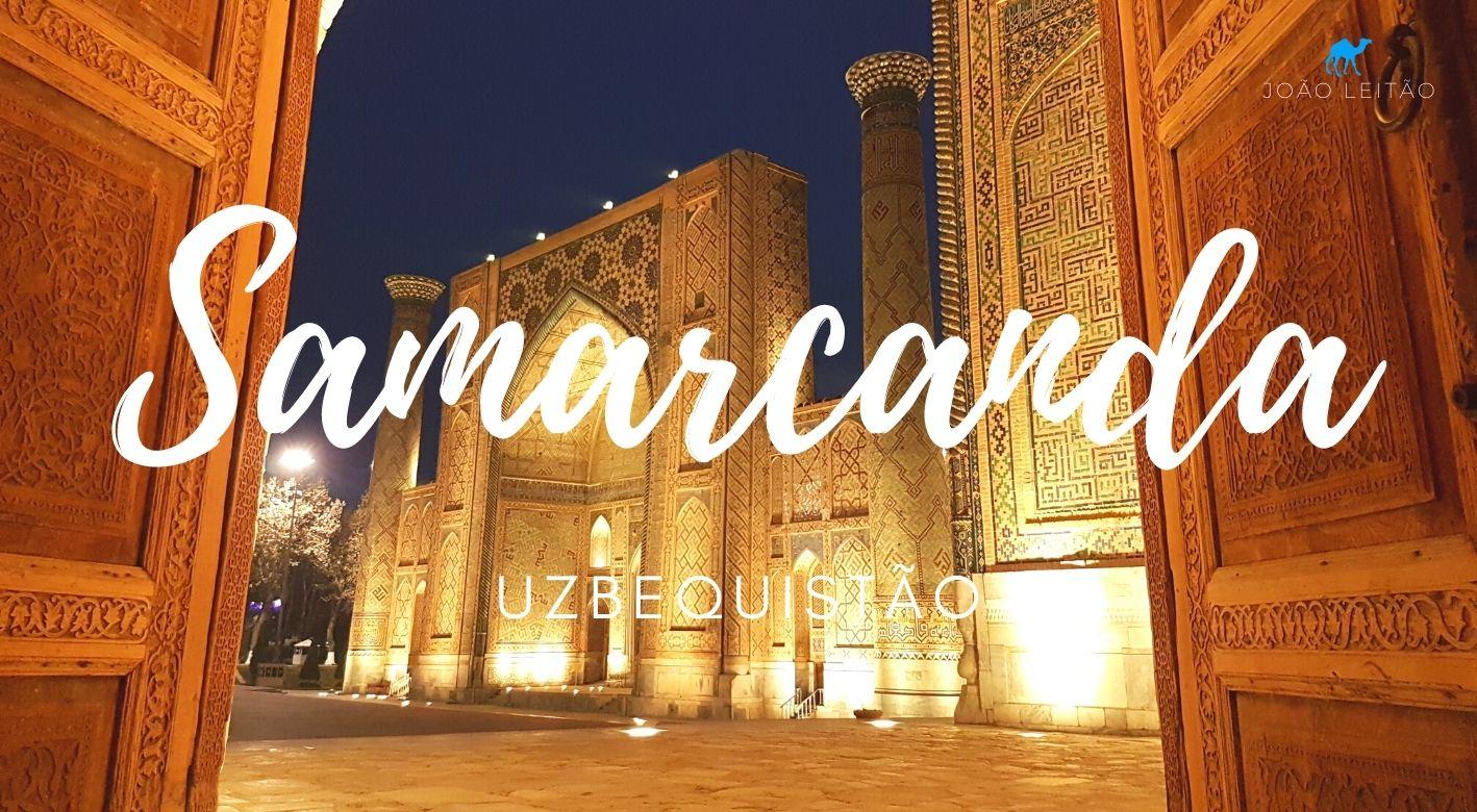 O que fazer em Samarcanda Uzbequistão
