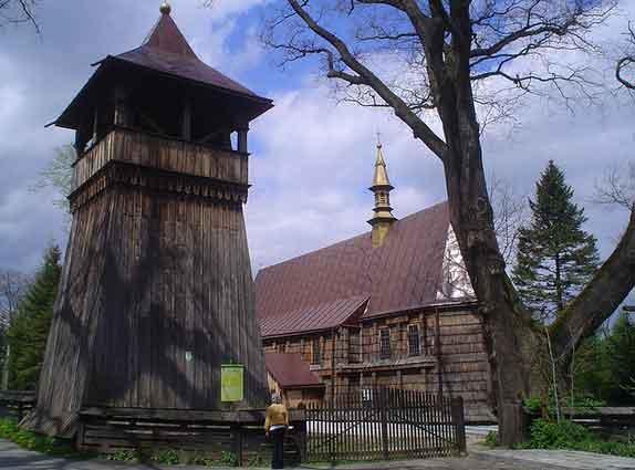 Igreja de Jasienica Rosielna, UNESCO, Polónia