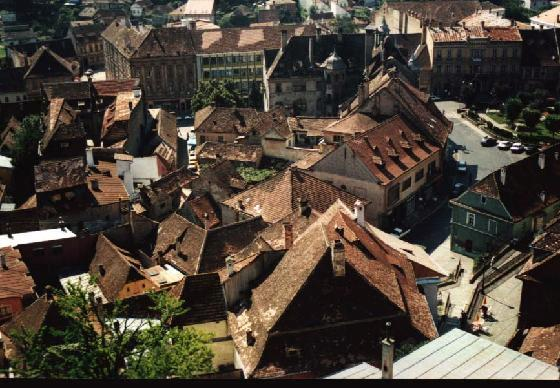 Cidade Medieval UNESCO de Sighisoara, Transilvânia Roménia