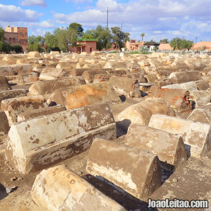 Cemitério Judeu de Miaara em Marrakech