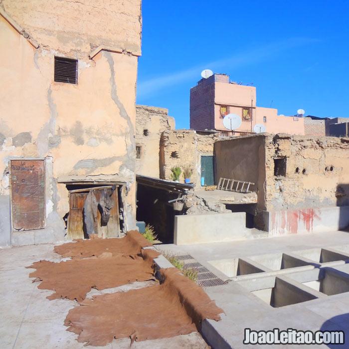 Curtumes de Marrakech