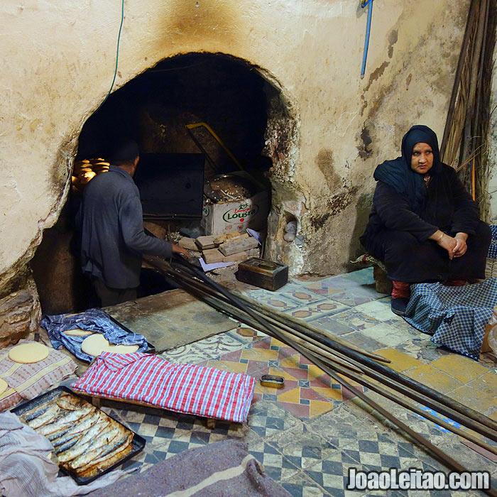 Forno em Marrakech